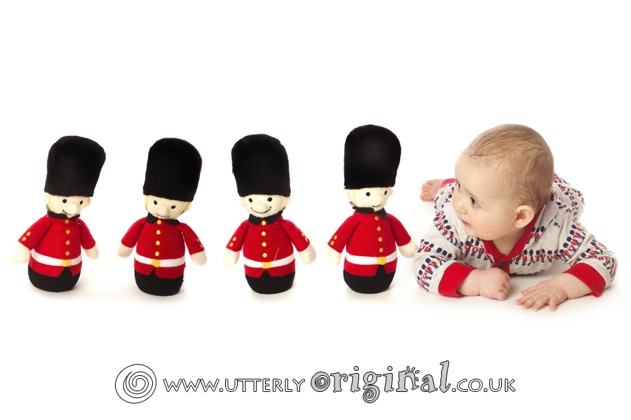 Toy Soldiers baby photography,